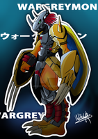 Wargreymon by DarkxxCrow