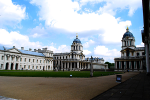 Naval College at Greenwich by Ana-D