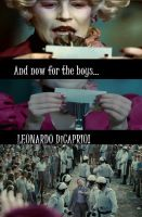 DiCaprio in the Hunger Games by FlutteringPhalanges