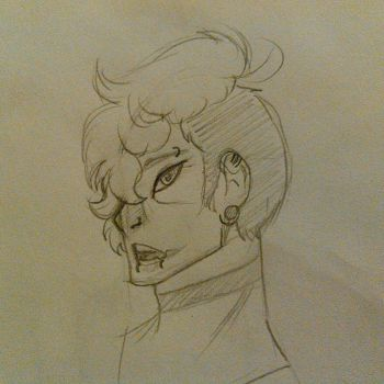 Kyoshiro 'totally not a model' Asano by StarBase11