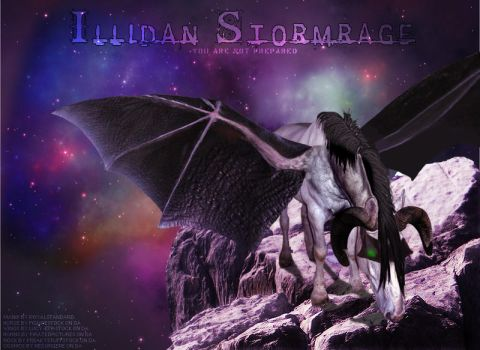 Illidan Stormrage by royalstandard
