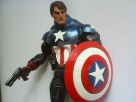 custom captain america bucky by darknightsad