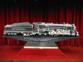 Master Carving of NYC Hudson by SteamRailwayCompany