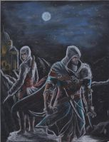 ASSASSIN'S CREED REVELATIONS by angell35art