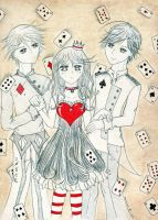 .:: Queen of Hearts ::. by mariwu