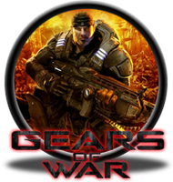 Gears of War Button by GAMEKRIBzombie