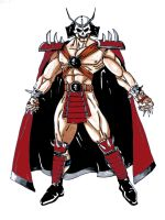 Shao Kahn MK3 by darknight7