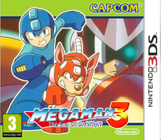 Megaman 3 3DS boxart by dburch01