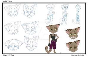 Jinx -- Model Sheet by AnimeMan90