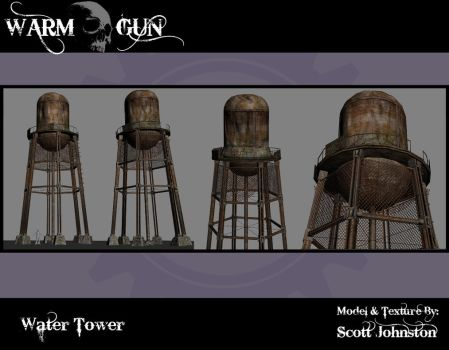 Water Tower by WarmGunMod