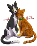 Jake and Talltail by Warrior-Junkie