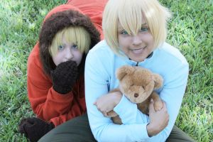 Kenny and Butters by Awesome-Vivi