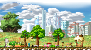 Maplestory Background 1 by BlueTailz