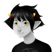 Karkat bust by chocomax