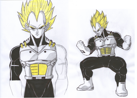 Android Vegeta by TicoDrawing