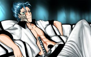 +Grimmjow+ by BlossomPPG