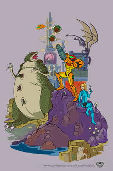 The World of Metroid by Camb0t