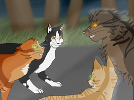 The new leader is Tigerclaw by Teelia