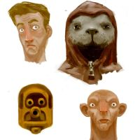 Yet more faces by cluis
