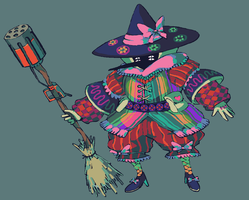 Witchsona by brotoad