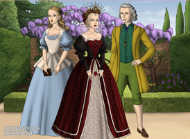 Alice in Wonderland w. Tudors Dollmaker by dollmake