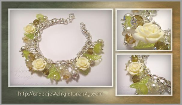 Fancy Garden Dangle Bracelet by Araen
