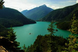 Diablo Lake by KRHPhotography