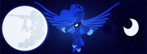 Luna Facebook Timeline Cover by Zaretii