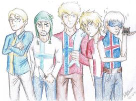the nordic boys by GorillazFiggo