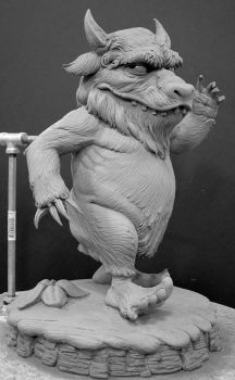 Wild Thing Maquette by DonLanning