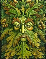 Oak King by ravenscar45