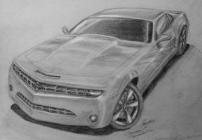 Camaro - quick drawing by camaro1