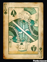 King Of Spades by mocon