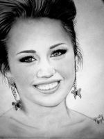 Miley Cyrus - Oscars 2010 - updated by DeadlyAngel-Drawings