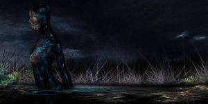 The Swamp Lady by GrafGunther