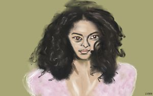Woman face Study n74 by lv888
