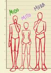 Height Differences by Mayardin