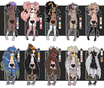 Demon and Harpy Adopts (Closed) by MrGlitter