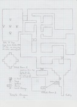 Temple Dungeon by paladin4hire