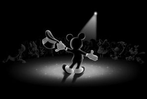 Mickey Mouse - Take a bow! by melmike-threadless