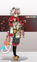 [CLOSED] Auction : Manekineko Adopt by Nuku-Niku