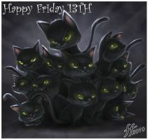 13 Kitties by fernandofaria