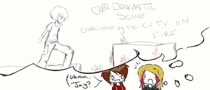 Over Dramatic Scene by JqotD