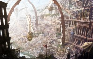 The Holy City was lost by makkou4