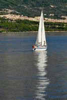 Sailing into Makarska by wildplaces