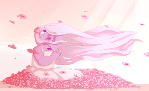 30 Days of Amethyst: Day 5: Flowers by kyoukorpse