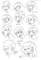 Arabella expressions by mighty-mando
