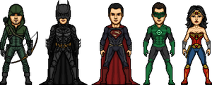 DC Universe by MicroManED
