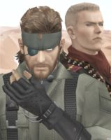 Big Boss Snake and Ocelot MGS Phantom Pain Mod by Hatredboy