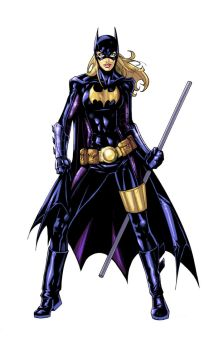 Batgirl ready to fight by Namine24